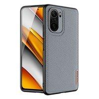 Dux Ducis Fino case covered with nylon material for Xiaomi Mi 11i / Poco F3 gray