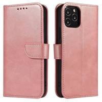 Magnet Case elegant bookcase type case with kickstand for Samsung Galaxy A11 / M11 pink