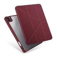 """UNIQ case for Moven iPad 10.2 """"(2020) maroon / burgundy"""
