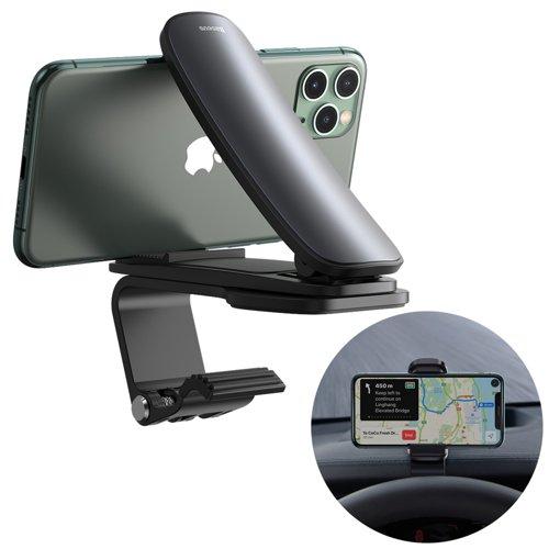 Baseus Big Mouth Pro Bracket Vehicle Mount Clip for Dashboard black (SUDZ-A01)
