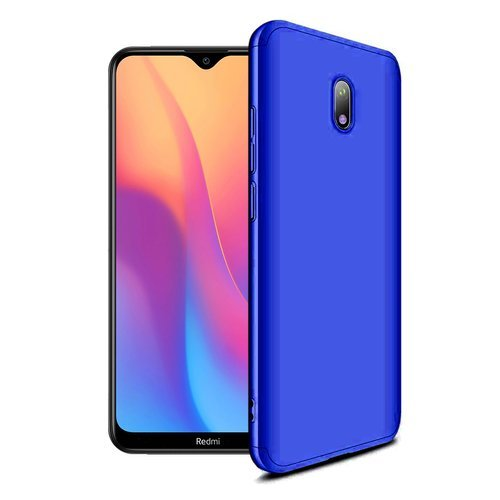 GKK 360 Protection Case Front and Back Case Full Body Cover Xiaomi Redmi 8A blue