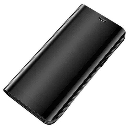 Clear View Case Cover für Samsung Galaxy A51 schwarz