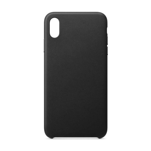 ECO Leather Öko-Leder case schutzhülle hülle für iPhone XS Max schwarz